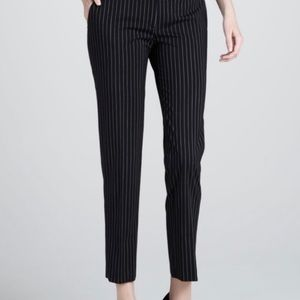 Michael Kors Pinstripe Cropped Dress Pants